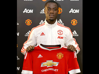 Eric Bailly has joined Manchester United on a four-year contract. Image courtesy: Twitter/@ManUtd
