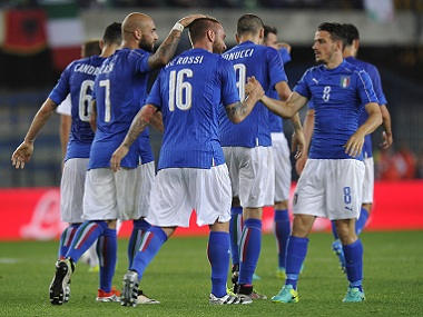 The Italy team will assume a familiar look at Euro 2016. Reuters