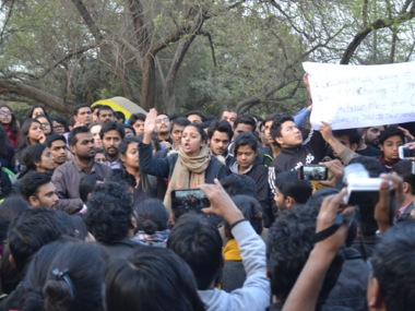 File image of JNU protest. Tarique Anwar. Firstpost