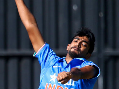 Jasprit Bumrah finished with nine scalps to top the bowling charts in the three-match ODI series against Zimbabwe. AFP