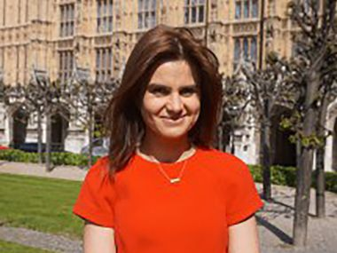 File photo of Jo Cox. AFP