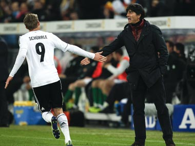 Joachim Loew looks to buld another generation of German footballers ahead of 2018 FIFA World Cup . Reuters
