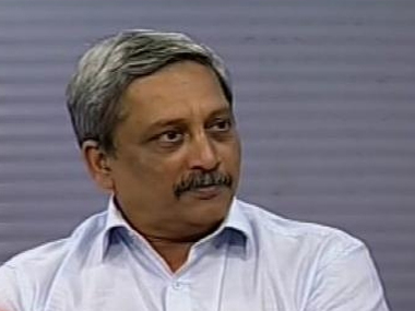 File image of Manohar Parrikar. News18