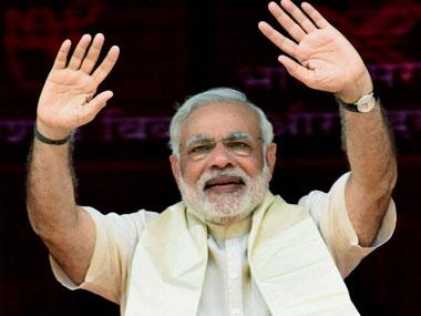 A file photo of PM Narendra Modi. PTI