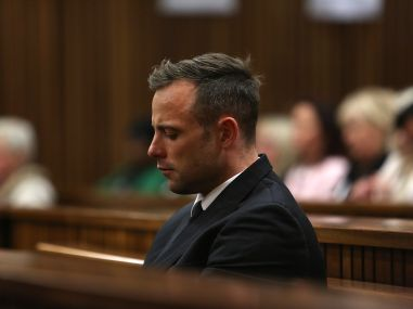 File photo of Oscar Pistorius. AFP