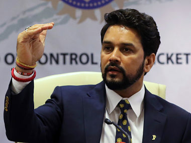 Anurag Thakur wants to develop Northeast cricket. Reuters