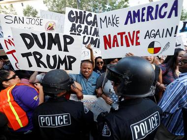 Protests against Donald Trump