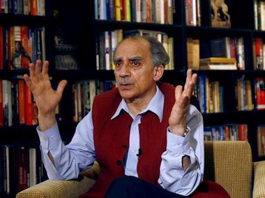 A file photo of ARun Shourie. Reuters
