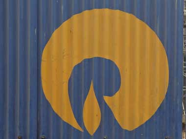 Reliance Industries Limited logo. Reuters