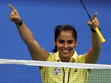 File image of Saina Nehwal. PTI