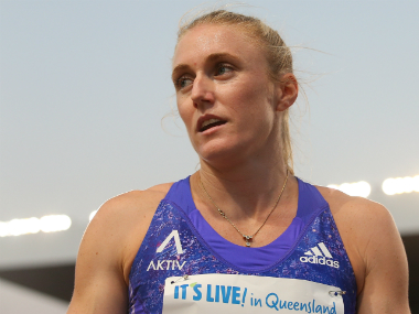 File photo of Sally Pearson. Getty Images