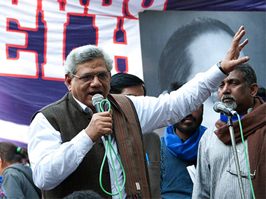 Sitaram Yechury. Photo: Naresh Sharma | Firstpost