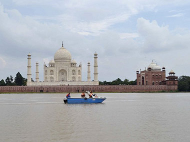 File photo of the Taj Mahal. AFP