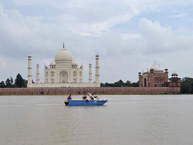 File image of the Taj Mahal. AFP