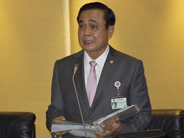 Thai PM Prayuth Chan-o-chan. AP