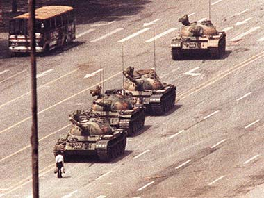 File photo of Tiananmen Square protests. Reuters