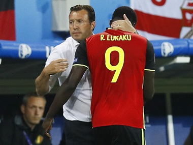 Marc Wilmots admitted that Romelu Lukaku had an off-night against Italy. Reuters