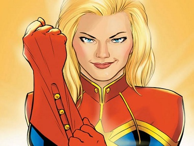 Captain Marvel/Twitter