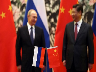 Russia and China. Representational image. Getty Images