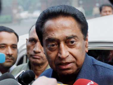 Senior Congress leader Kamal Nath. PTI