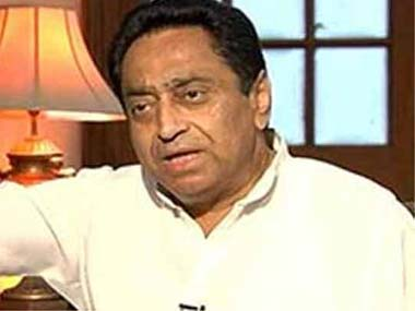 Former in-charge of Punjab Kamal Nath. Image courtesy: Screenshot
