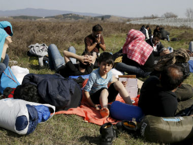 File image of migrants from Afghanistan. AP