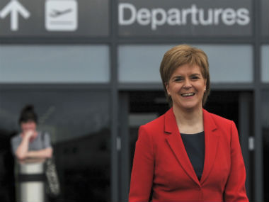 File image of Nicola Sturgeon. Reuters