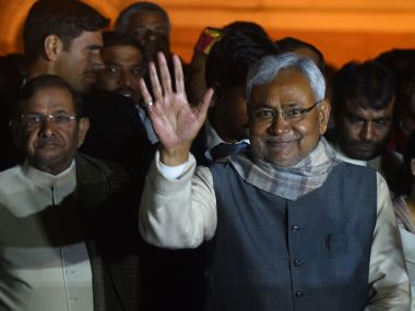 File photo of Nitish Kumar. AFP