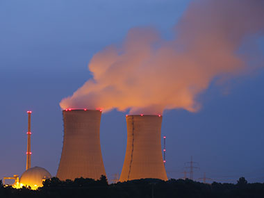 Representational image of a nuclear power plant. Getty images