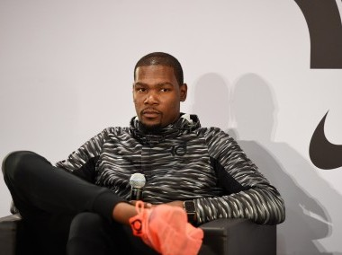 File photo of Kevin Durant. AFP