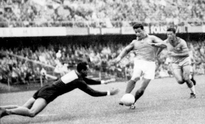 French forward Just Fontaine. AFP