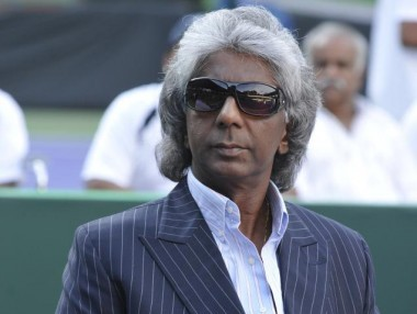 File photo of Anand Amritraj. PTI