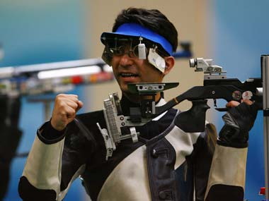 File photo of Abhinav Bindra. Getty