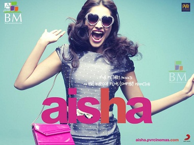 The poster of 'Aisha'