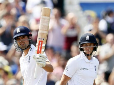 Alastair Cook and  Joe Root. Reuters