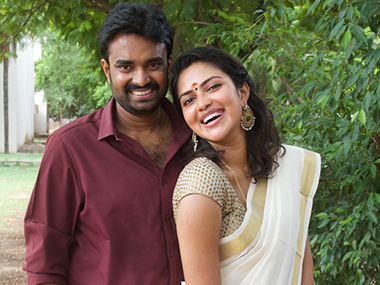 Amala Paul and AL Vijay. Image courtesy: Facebook