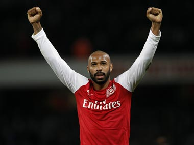 Thierry Henry. Reuters