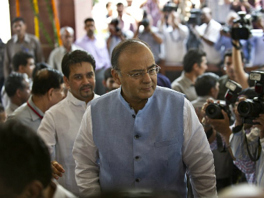 Finance Minister Arun Jaitley. AFP
