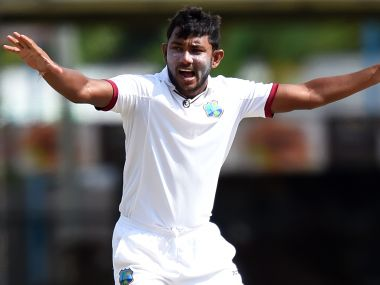 West Indies cricketer Devendra Bishoo. AFP