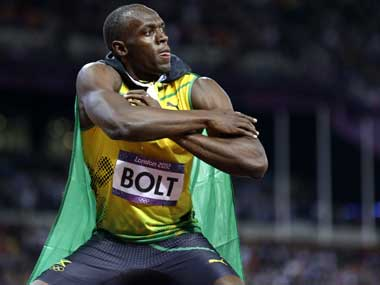 Usain Bolt. AFP