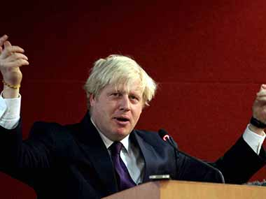 A file image of Boris Johnson. PTI