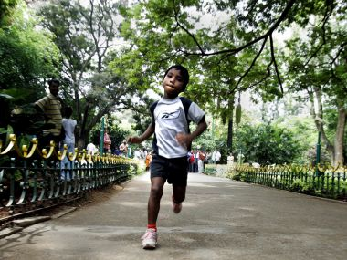 File photo of Budhia Singh. AFP