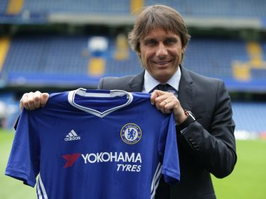 Antonio Conte loses his first game in-charge as Chelsea manager. AFP