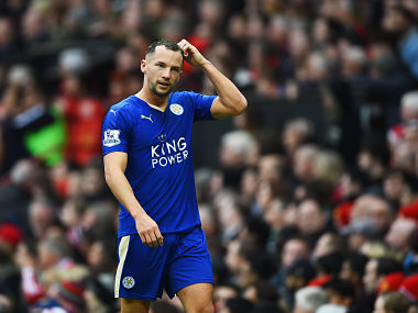 File photo of Danny Drinkwater. Getty Images