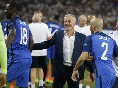 Didier Deschamps has been a key figure for France in recent years. AP