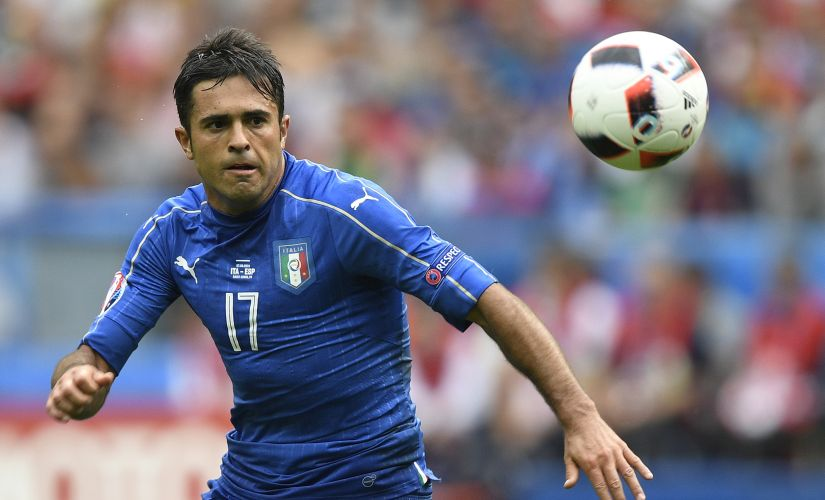 Eder is the perfect foil to Graziano Pelle and can trouble Germany's backline. AFP
