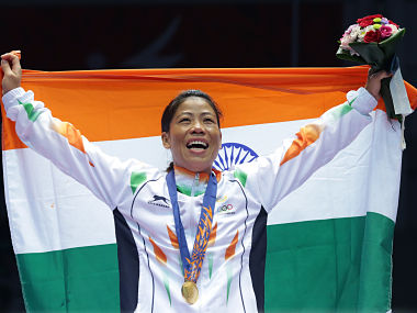 M.C. Mary Kom. Getty Images