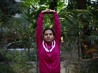 File photo of Dutee Chand. AP