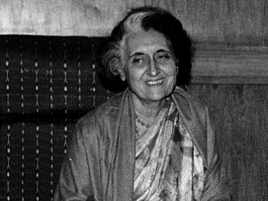Former PM Indira Gandhi. File photo. Reuters