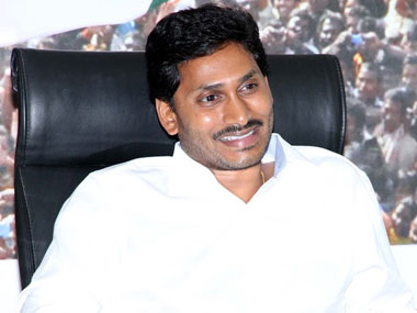 YSR Congress chief Jaganmohan Reddy.